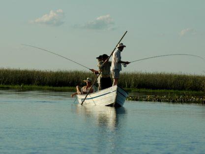 Fishing in Ibera Wetlands