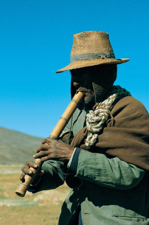 Vibrant indigenous culture of northern Chile