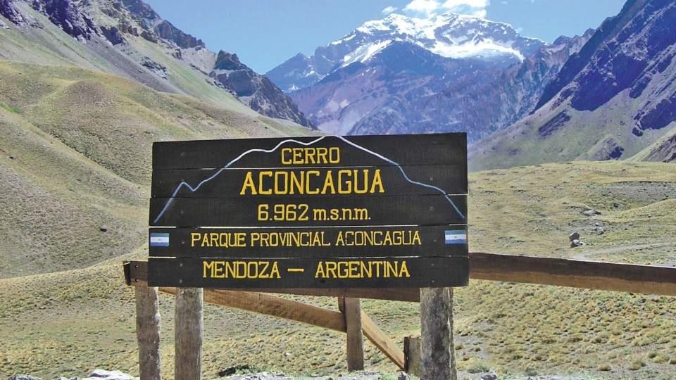 Trekking the Aconcagua