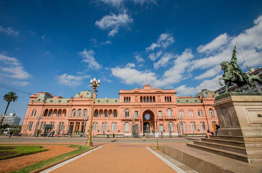 Casa Rosada - Buenos Aires Pink Governmental Palace.