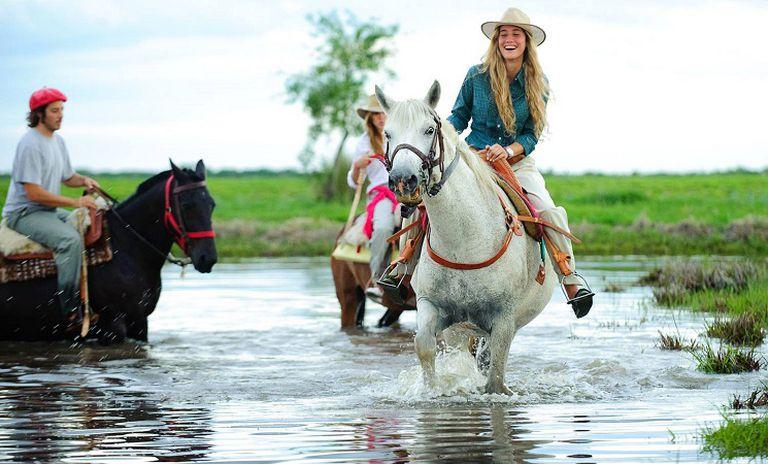 Horse Riding in Iberá Wetlands