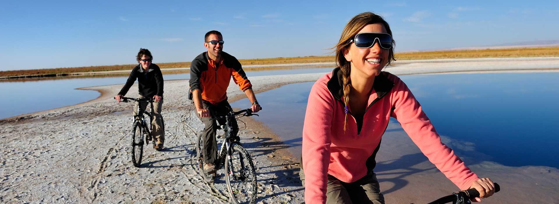 Biking in Atacama Dessert