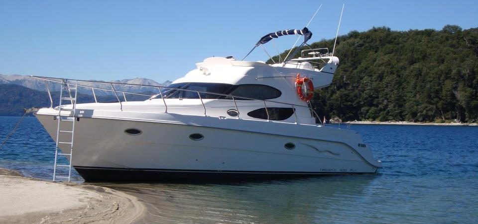 Yacht Anchored