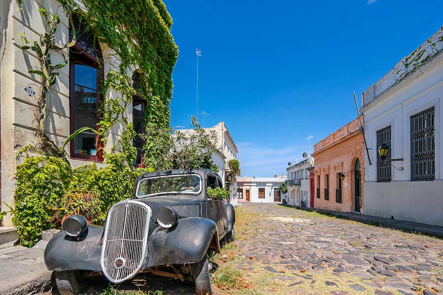 Colonia Streets - Uruguay