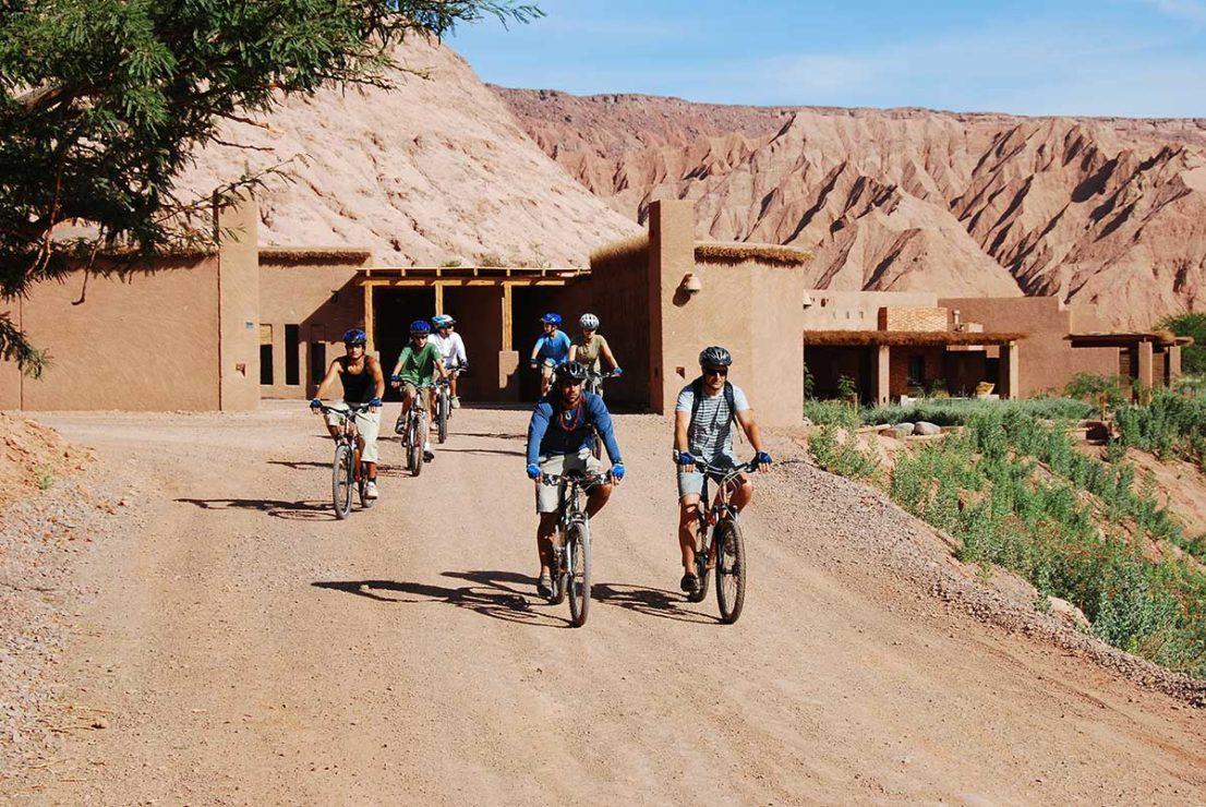 Biking in Atacama