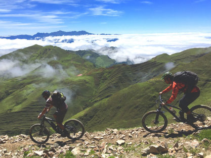 mountain biking in Northwest Argentina