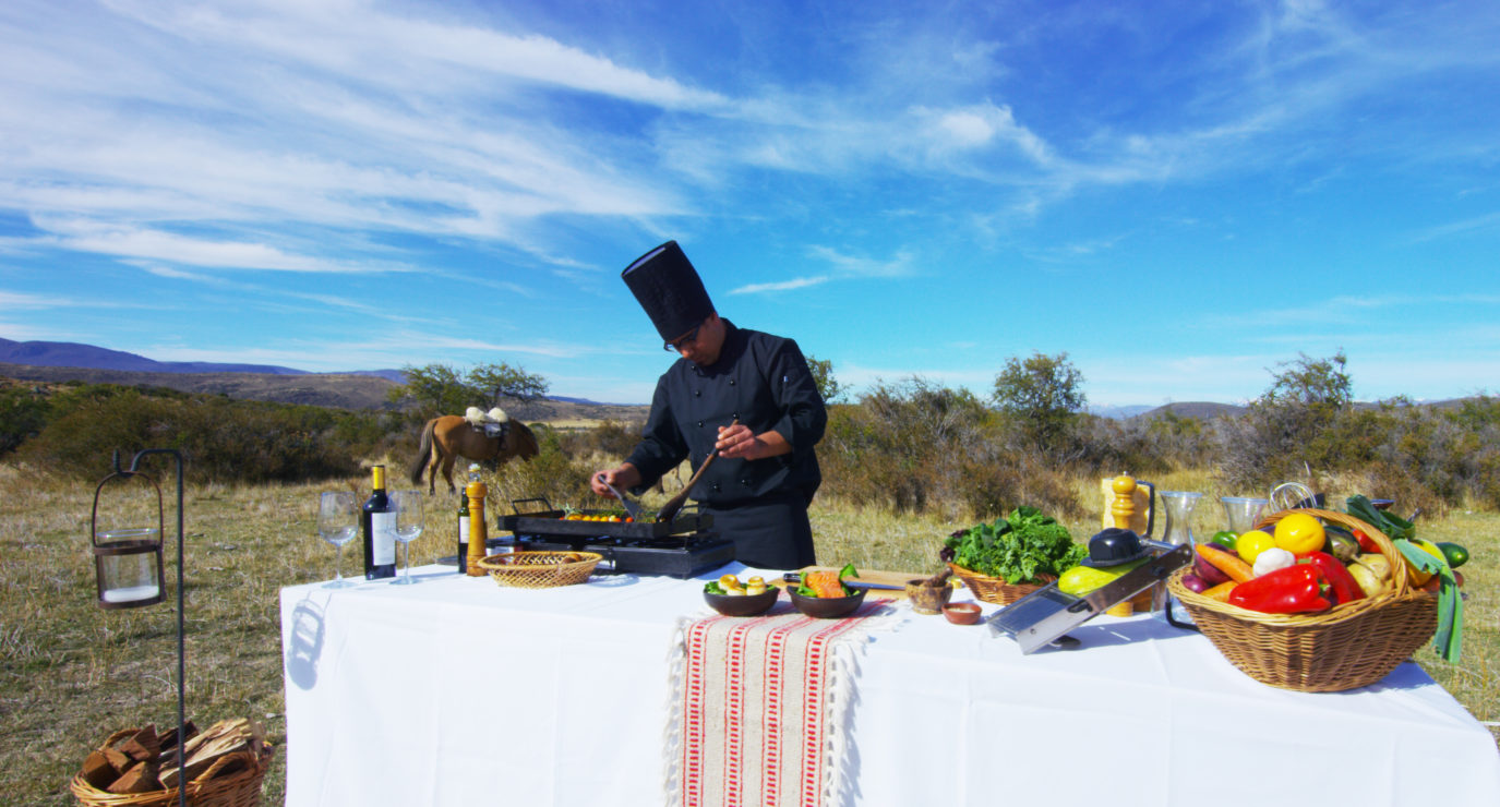 Outdoor Cooking with Profesional Chefs