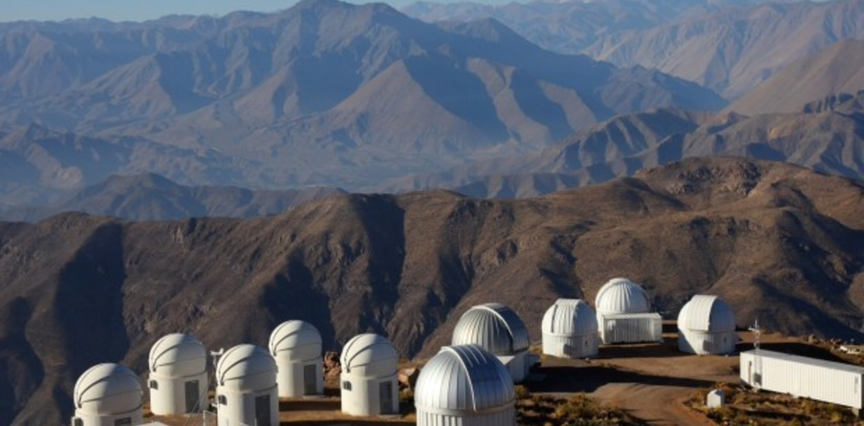 Observatories in South America