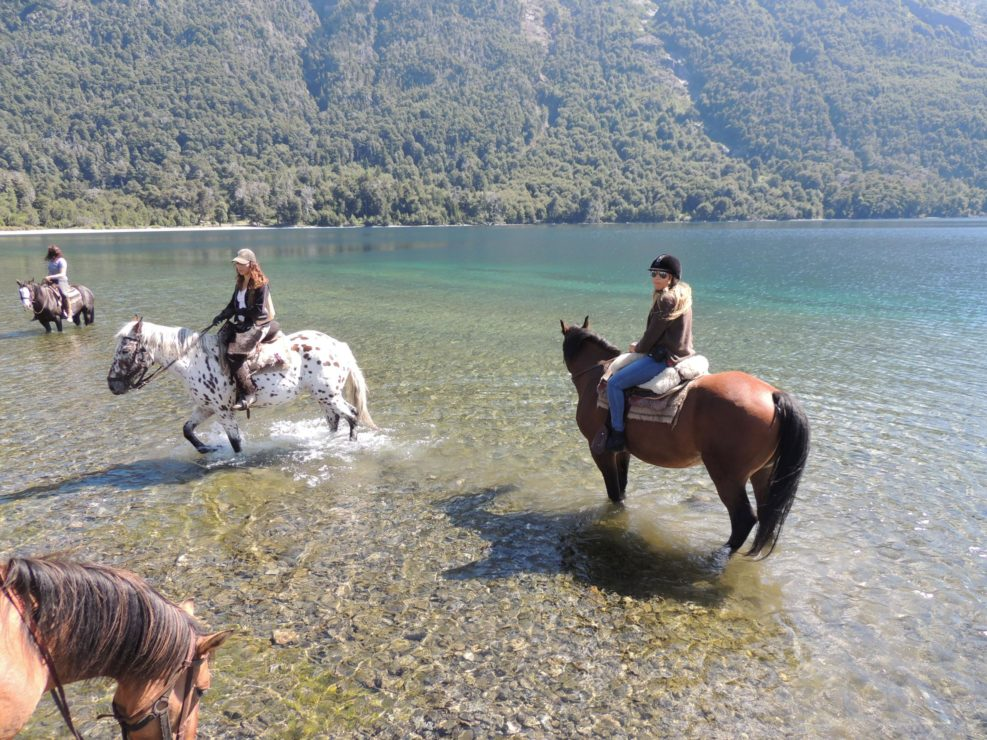 Horse Riding in water