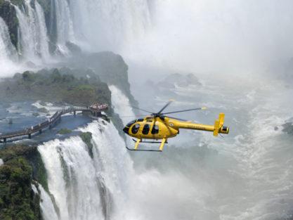 Helicopter Flight Over Iguazú Falls
