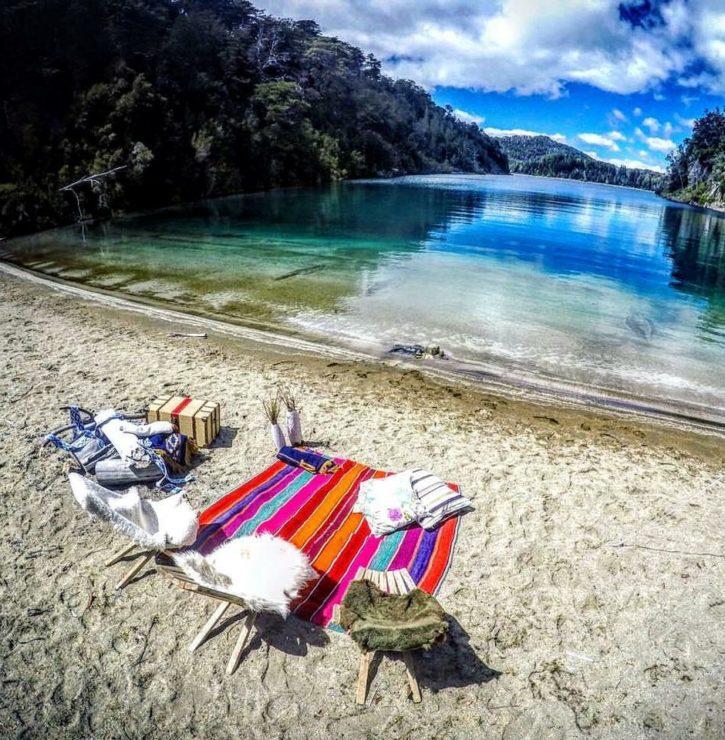 Lake Shore - Patagonia Argentina
