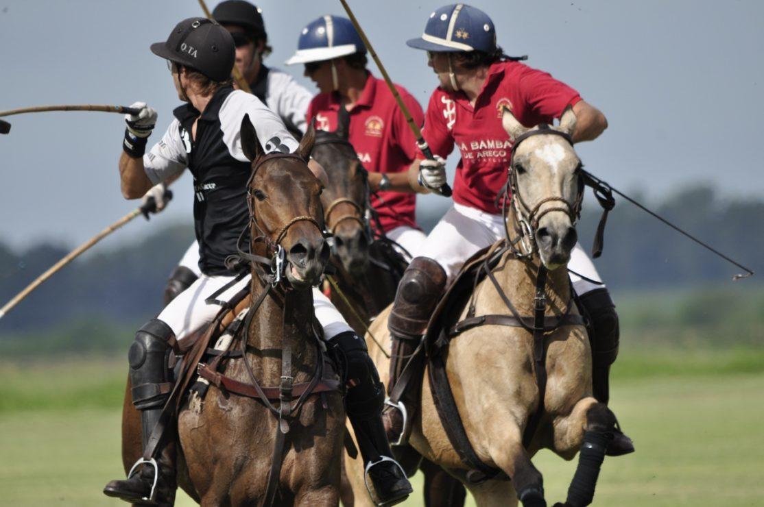 Horse Riders in Polo Argentina Open