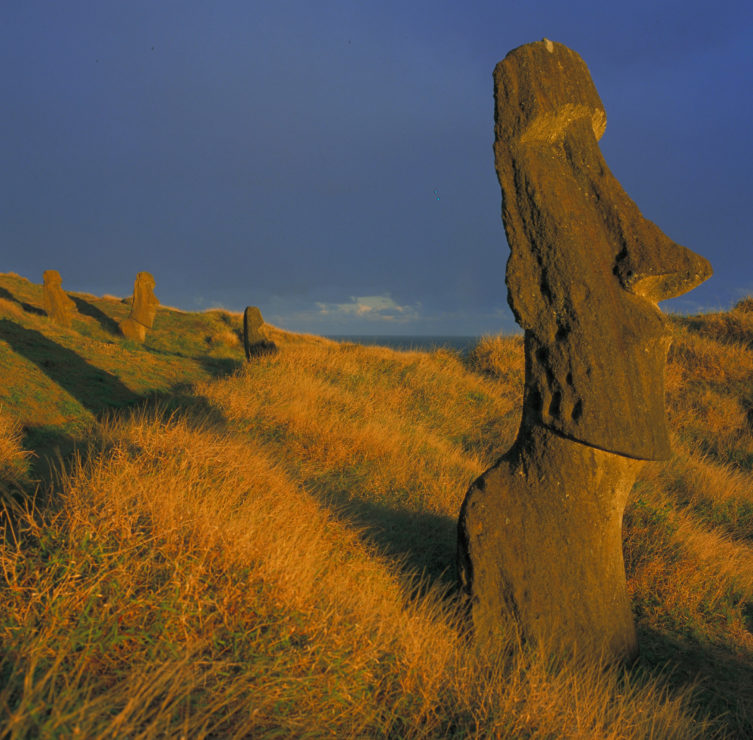 Travel to easter island - Moai