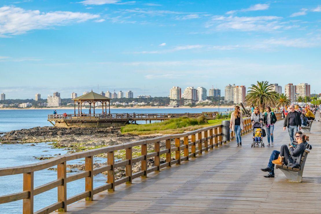 Waterfront Boardwalk in Punta del Este
