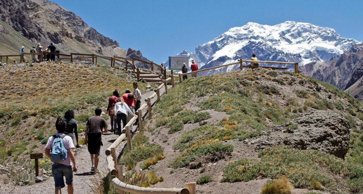 Trekking in Aconcagua Park