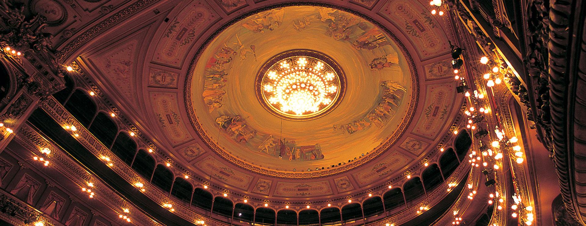 Colon Theatre ceiling