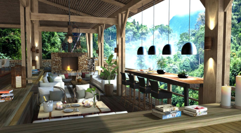 Luxurious Lodges with a view