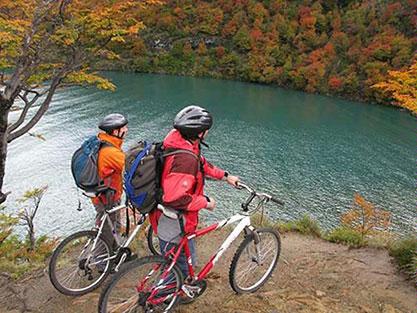 Biking in Patagonia