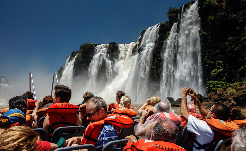 Water Excursions in Iguazu Falls