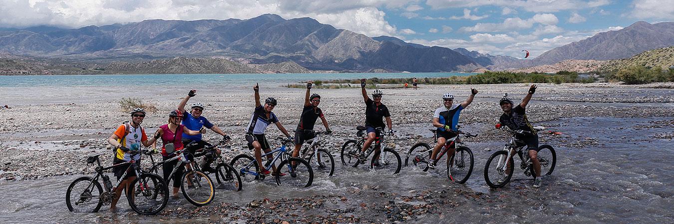 Biking in Mendoza Wine Country