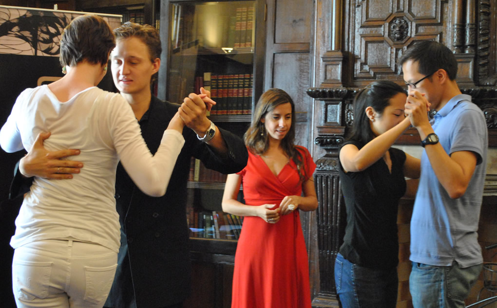 Tango lessons in Buenos Aires