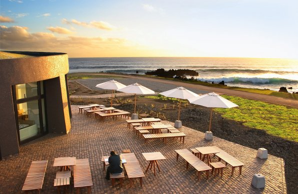 View from Easter Island Hotel