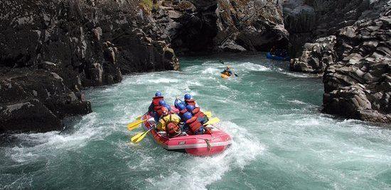 Rafting at Limay River