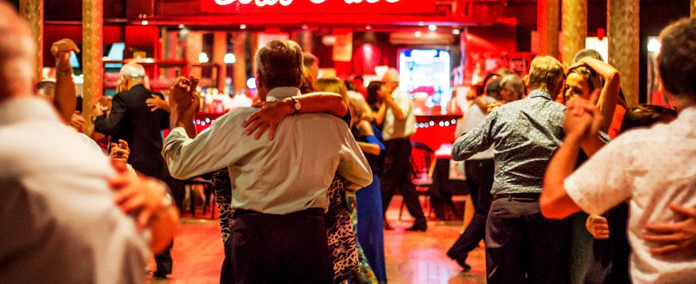 Tango Dancing in Buenos Aires