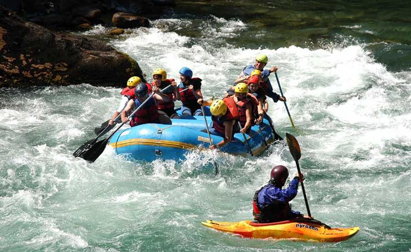 Rafting Activities - Patagonia
